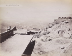 Fort Asmai, interior, [looking south-west].